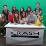 Visita a Crash televisió