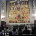 Visita a la Seu. Retalule del Sant Esperit. 1r. bat.