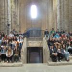 Visita a la col·legiata de Sant Vicenç de Cardona